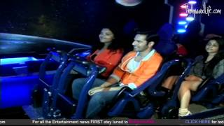 varun dhawan unveils india s first indoor roller coaster at adlabs imagica