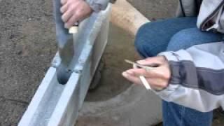 小屋作り(ブロック編)