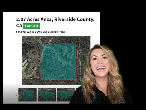 2.07 Acres Anza Land Property for Sale – Properties in Anza, Riverside County, California