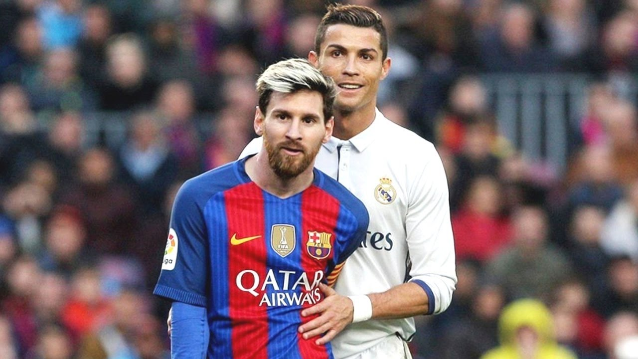 Image result for cristiano ronaldo and messi