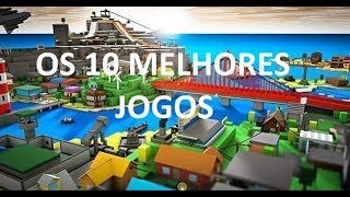TOP 10 BEST ROBLOX GAMES-Meiner Meinung nach