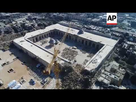 Drone footage shows destruction in Aleppo and Daraya