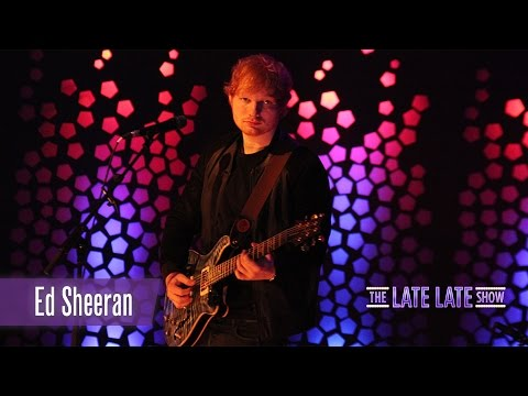 Ed Sheeran - 'Thinking out Loud' | The Late Late Show
