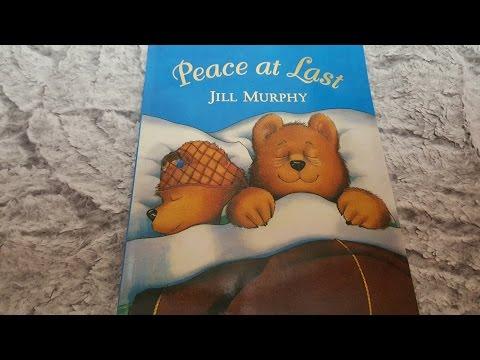 [영어동화]Peace at last by Jill Murphy - 이제 잠 좀 자볼까 - Story Time with Amy ♡