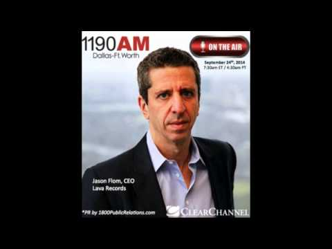 Jason Flom CEO of Lava Records Interviewed Live on Clear Channel The Traders Network Show