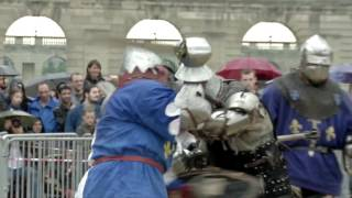 Video Les tournois de chevaliers revisités en sport de combat en armure download MP3, 3GP, MP4, WEBM, AVI, FLV Agustus 2018