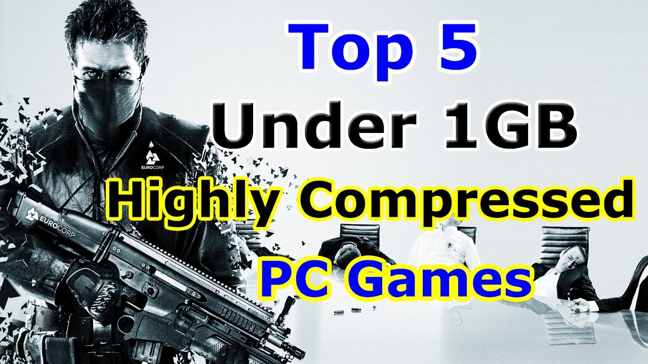 highly compressed pc games under 1gb download