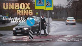 ŽIEMĄ RUOŠKIS VASARAI? NAUJAS PASPIRTUKAS?  Ninebot by Segway MAX G30   Unbox Ring apžvalga