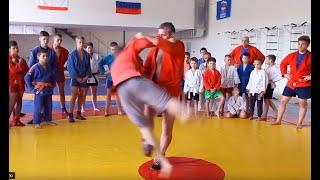 Подсечки от Игоря Куринного. Sweep throws by Igor Kurinnoy