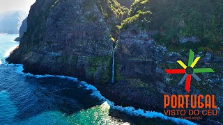 Ilha da Madeira waterfall - Véu da Noiva (Bridal Veil) to Seixal - 4K Ultra HD