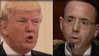 JUST IN: ROSENSTEIN JUST BETRAYED TRUMP, SO TRUMP DESTROYED HIM WITH THESE TWO WORDS