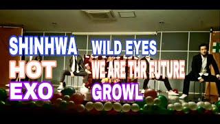 신화(SHINHWA) - 와이드아이즈(WILD EYES), 에이치오티(HOT) - 위아더퓨쳐(WE ARE T…