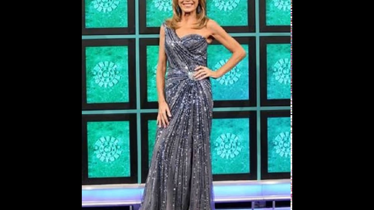 A Slideshow of Vanna White\'s Gowns on December 8-19, 2014 - YouTube