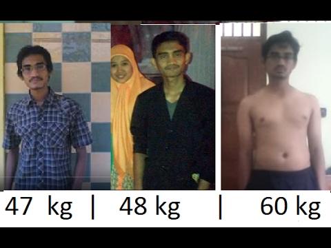 (MOTIVASI 47-60 Kg) 300%  Cara menambah Berat badan CEPAT& secara alami