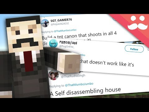 I BUILD your SILLY REDSTONE IDEAS! #14