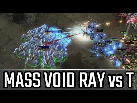 Mass Void ray vs T l StarCraft 2: Legacy of the Void Ladder