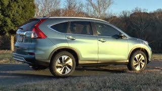 2015 Honda CR-V Test Drive Video Review - Small Crossover SUV