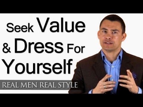 Advice For A Cheap Man Wanting To Complement Girlfriend - Seek Value & Dress For Yourself