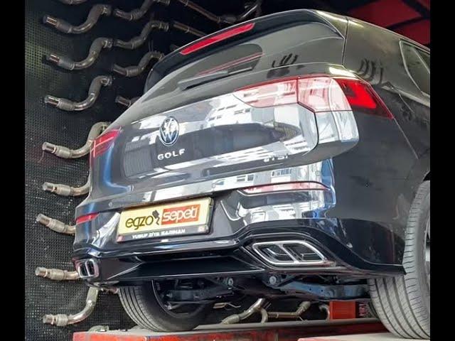 VW GOLF 8 1.5 KUMANDALI EGZOZ SESİ
