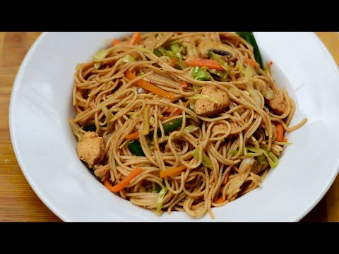 ★ Chicken Noodles | Chicken Chow Mein Recipe | Chinese Noodles | Chicken Recipes