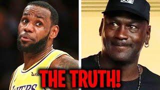 Why MJ Secretly HATES LeBron!