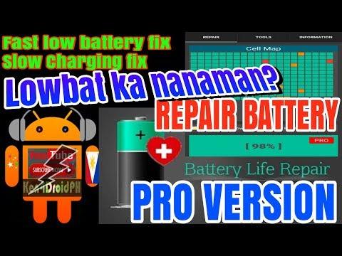 Ayusin Natin Battery Mo | BATTERY REPAIR PREMIUM APPS ANDROID (TAGALOG)