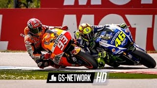 highlight full race motogp sepang malaysia 2015 accident battle rossi vs marquez