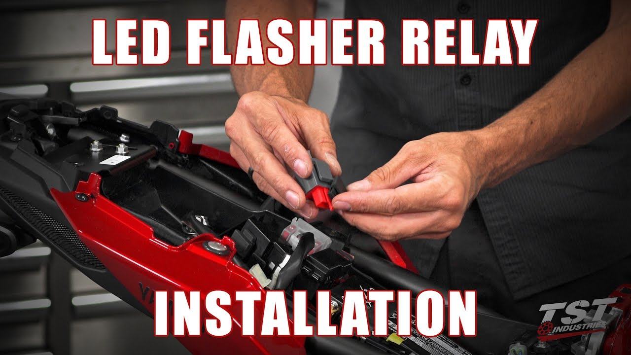 How To Install An Led Flasher Relay On A 2017 Yamaha Fz 09 By Tst Wiring Industries