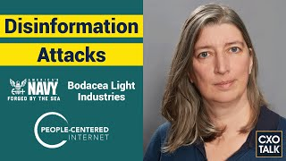 Disinformation, Infosec, Cognitive Security, and Influence Manipulation (CxOTalk #353)