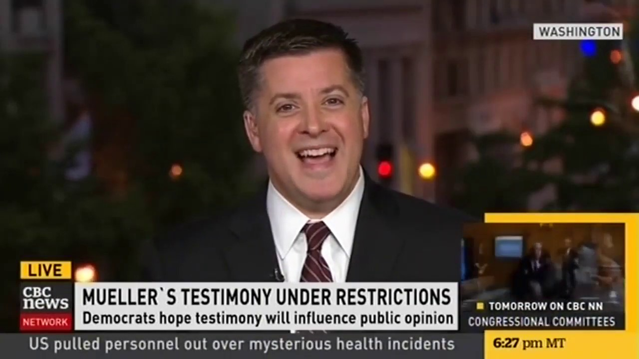 Joseph Moreno Appears on CBC News Network To Preview Mueller's Testimony