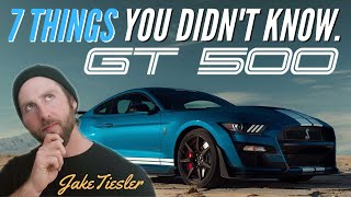 2020 Shelby GT500 (7 Things You Didn't Know!)