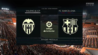 Valencia vs Barcelona full match | La Liga