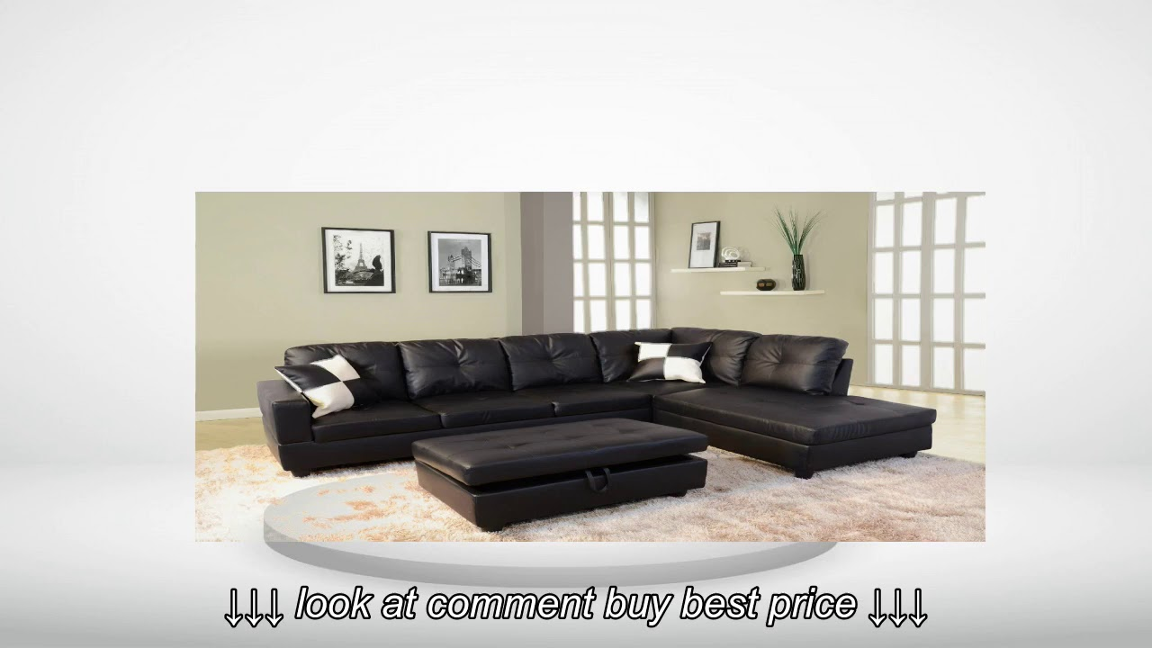 fine faux black hayneedle com andor getimage beverly leather furniture leftfacing sectional sofa url s