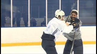 St Louis Blues Fight In Practice | December 10 2018