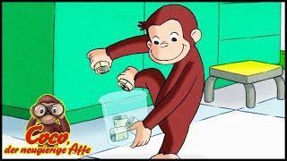 Coco der Neugierige Affe Deutsch 🐵Die Tüten-Einpack-Olympiade 🐵Ganze Folgen🐵Cartoons für Kinder