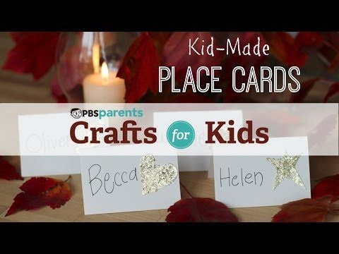Kid-Made Place Cards | Thanksgiving Crafts for Kids | PBS Parents