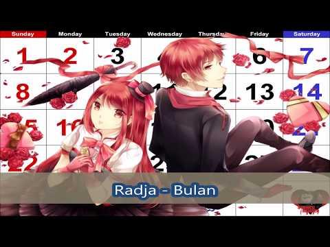 [Nightcore] Radja - Bulan (With English Subtitles)