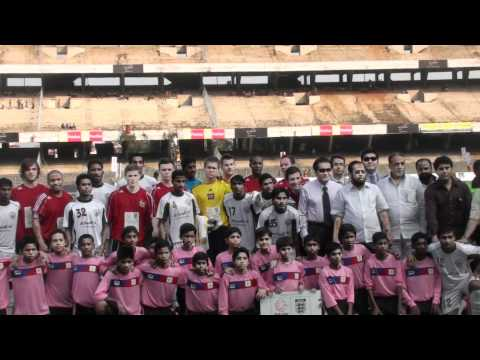 Sheffield FootBall Club In Y.B.K. Stadium,Kolkata, India (C) The Zoradah