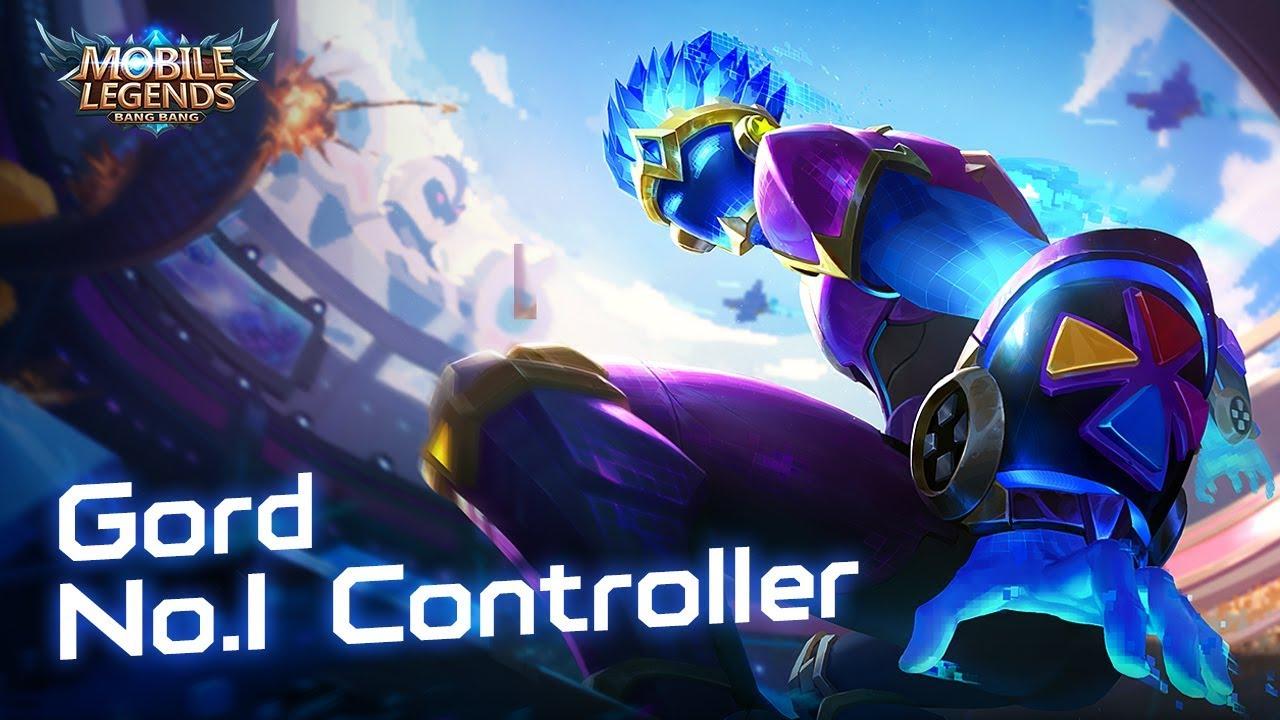 gord new skin   no.1 controller   mobile legends: bang bang!