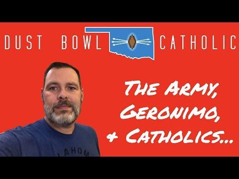 The Army, Geronimo and Catholics - Holy Family Catholic Church - Lawton, OK