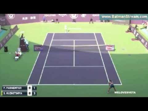 2016   Sveta Tianjin Open vs Pauline Parmentier