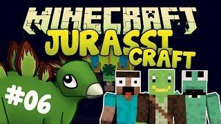 JurassiCraft #6 - HANGGLIDER! - Minecraft Modplay