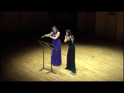 Goffredo Petrassi, Dialogo Angelico per due flauti - Andrea Lieberknecht, Hyeri Yoon