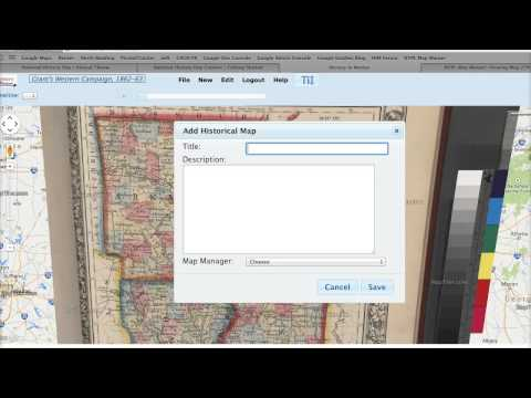 How to Overlay Historic Maps onto Google Earth Imagery from YouTube · Duration:  4 minutes 44 seconds