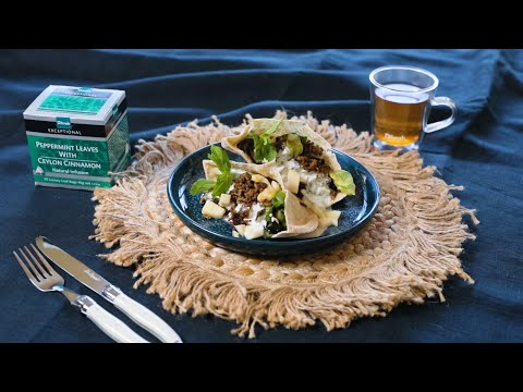 Peppermint tea infused lamb and tzatziki recipe – S01E07