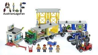 Lego City 60169 Cargo Terminal - Lego Speed Build Review