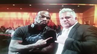 king mo on his 1st fight with rampage jackson