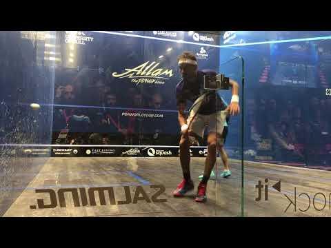 Mohamed El Shorbagy v Gregoire Marche British Open 2018 last game