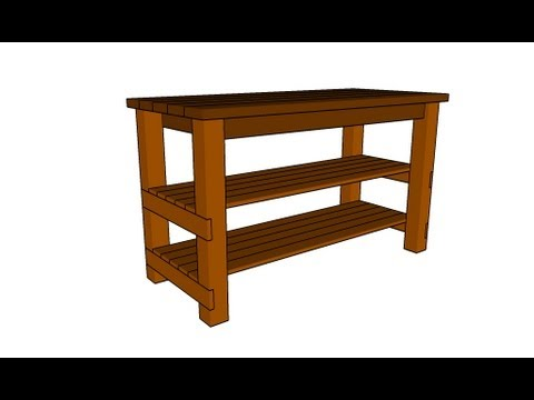 Diy Kitchen Island Plans diy kitchen island plans - youtube
