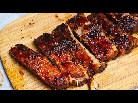 Air Fryer Ribs (How to Cook Baby Back Ribs in Air Fryer in 30 minutes)